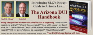 arizona dui handbook cover