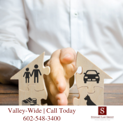 arizona property law - property division in divorce